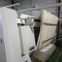 How many meters of computer multi-needle quilting machine is sewing in a day