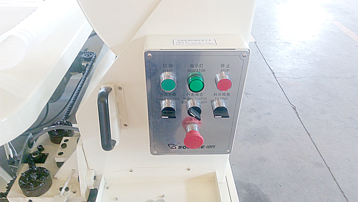 FB6 tape edge machine fool-proof operation panel