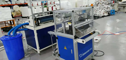 Automatic Mattress border making/cutting machine