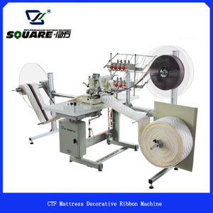 CTF Low Cost Mattress Decorative Ribbon Machine