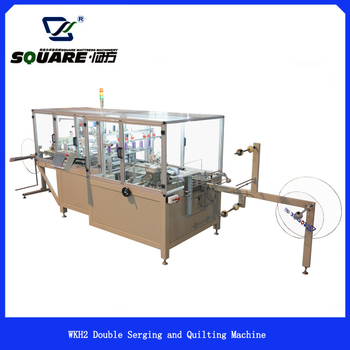 WKH2 Double Serging and Quilting Machine