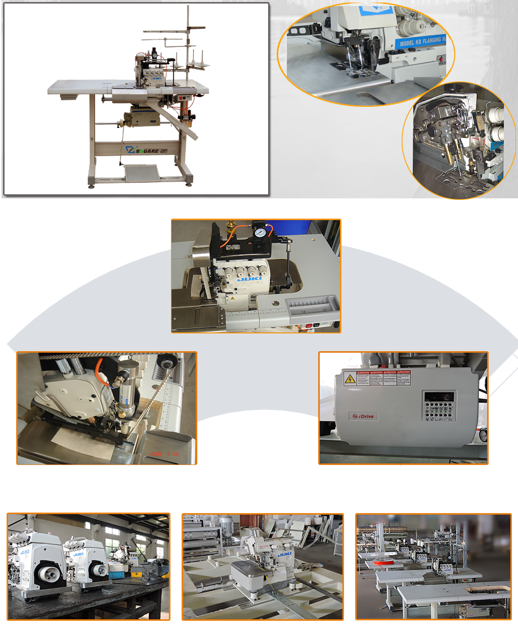 KB4 multifunction flanging machine details
