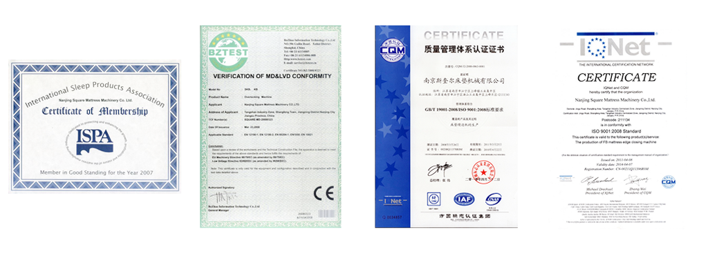 KB1 multifunction flanging machine certificate