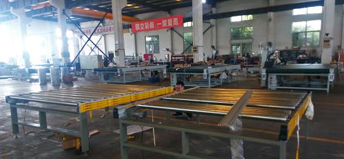 automatic mattress tape edge machine plus mattress convery table