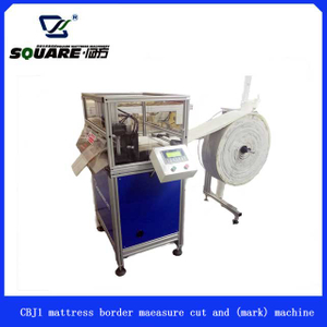 Model CBJ1 Mattress Border Measure cut and (mark) Machine