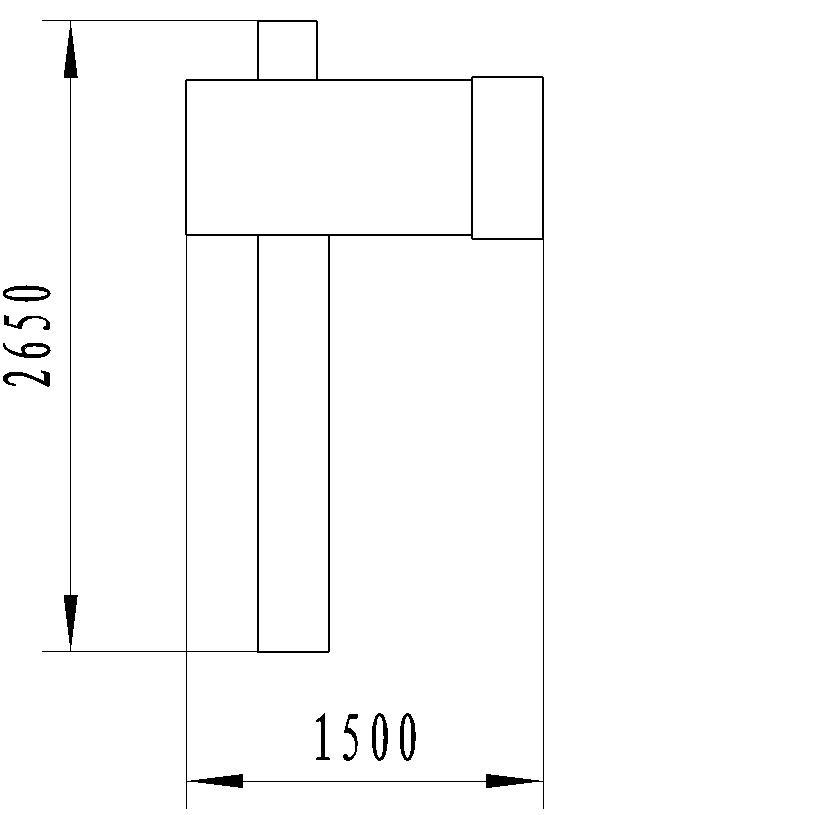 CLD3 automatic handle sewing/cutting machine layout size