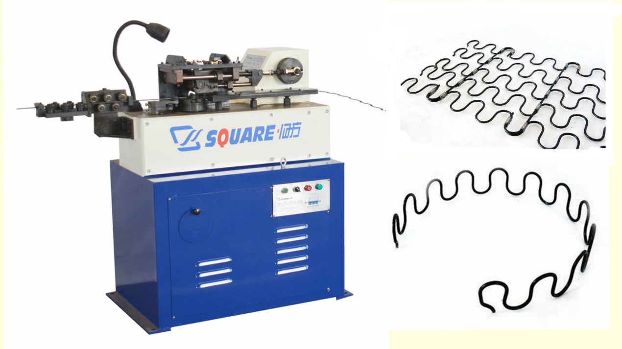 Do a snake S-shape spring, why not don't look at the automatic S-shape spring forming machine