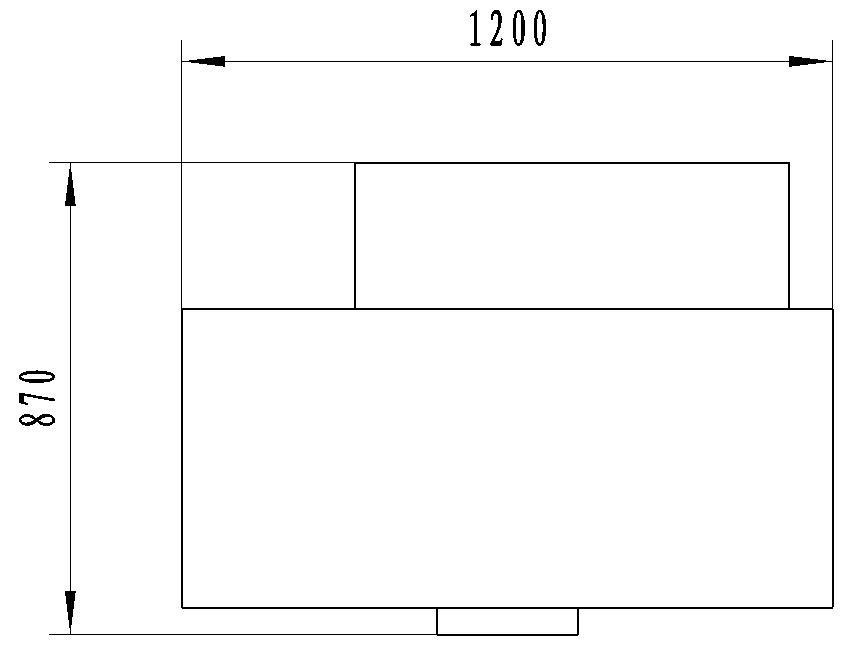 KB3 multifunction flanging machine layout size