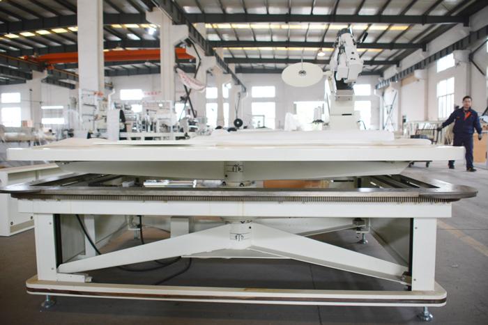 FB6 tape edge machine with precision guide track