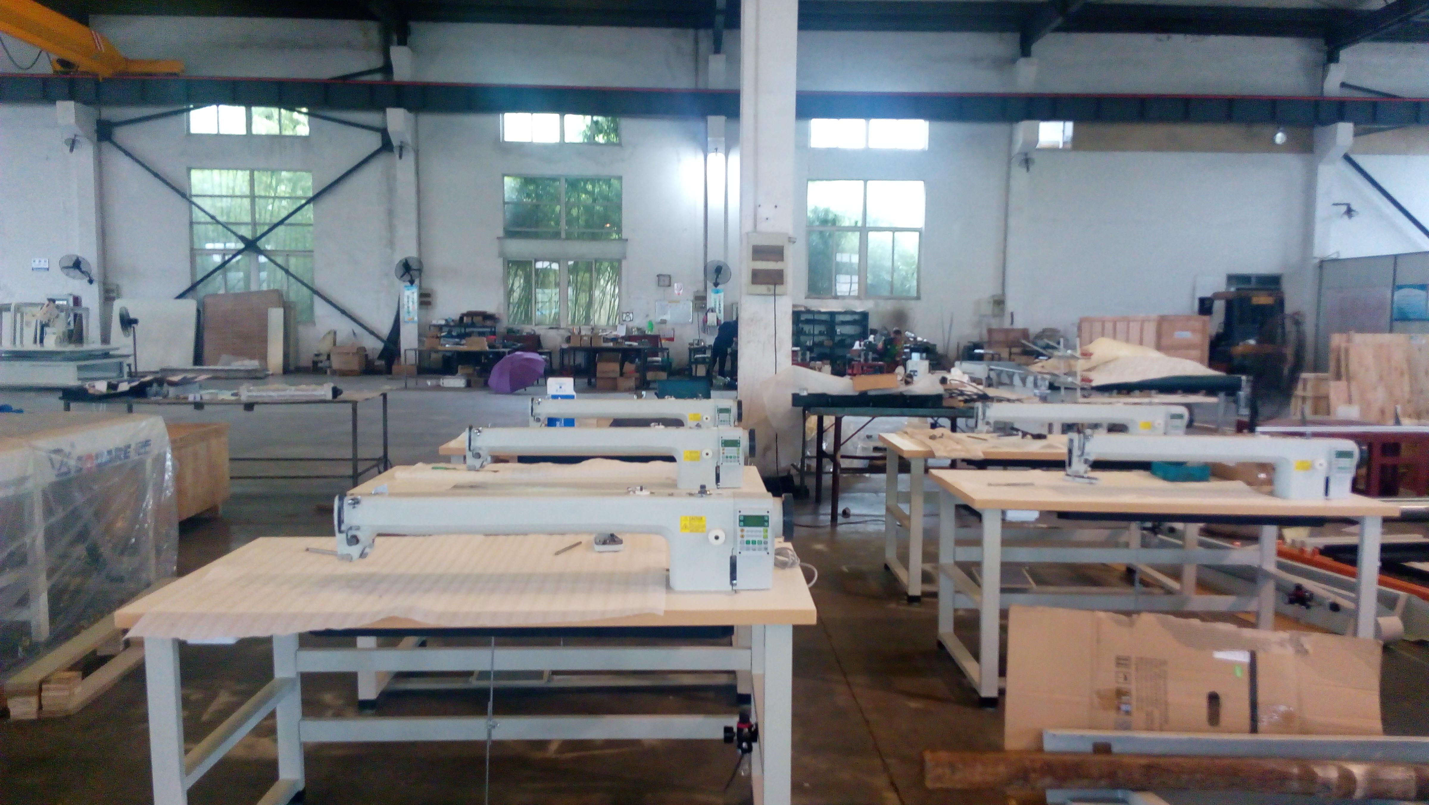 long arm quilting repair machine workshop