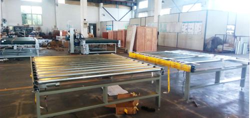 mattress conveyor table